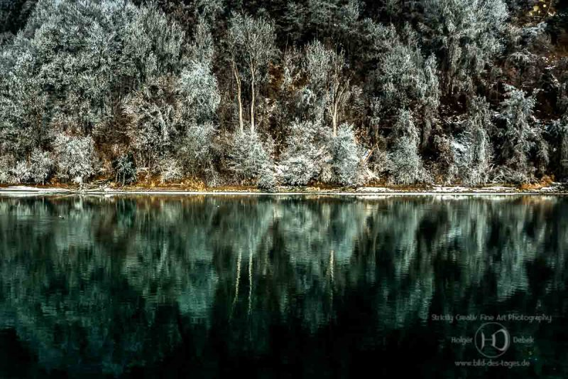 Reflexion im Winter